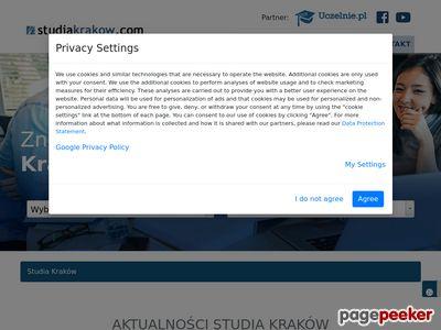 Studia Kraków ceny