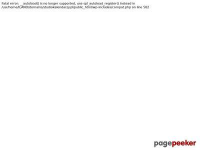 Kalendarze książkowe | www.StudioKalendarzy.pl