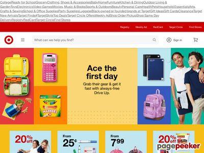 Target Corporation Website