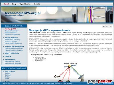 Technologiagps.org.pl - przewodnik po GPS