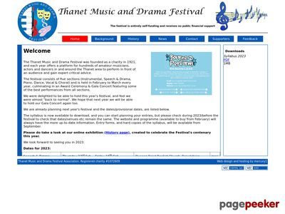 Thanet Music and Drama Festival