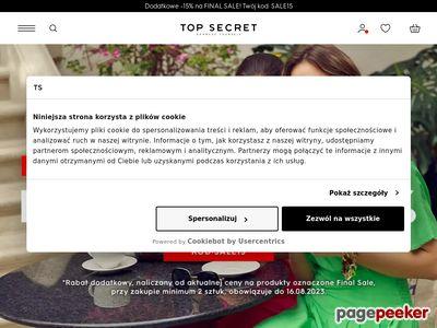 Top Secret - ubrania na wiosnę i lato