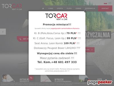 Wynajem aut Poznań