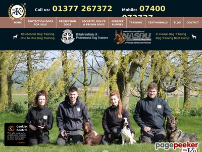 Trained Protection Dogs for Sale - Total K9