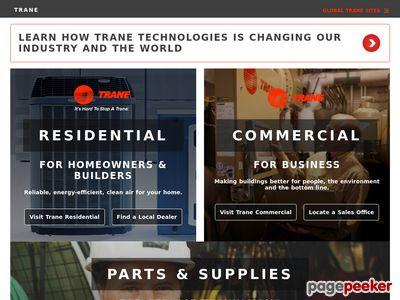 The Trane Company Website