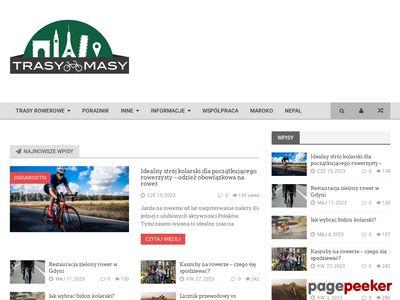 TrasyMasypl - rękawiczki rowerowe