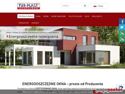 Okna energooszczędne PCV Tur-Plast