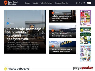 Promocje, wyprzedaże - Tutaj-tanio.pl