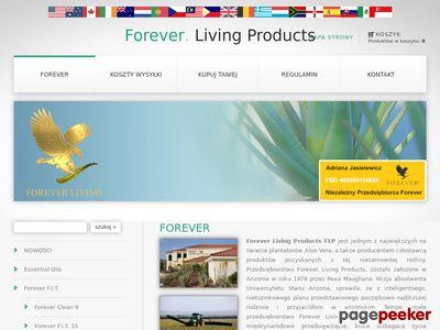 Sklep - Forever Living Products
