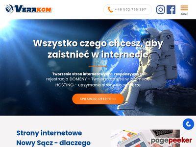 Nowy Sącz projektowanie www