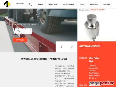 Wagi Elektroniczne - sprzedaż, serwis, legalizacja wag