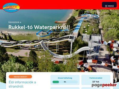 Rukkel-tó Vizipark Budapest Közelében (Waterpark.hu)