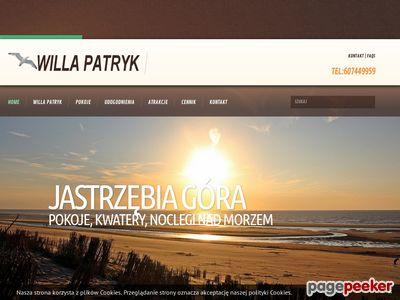 Noclegi, kwatery w Jastrzębiej Górze - willa-patryk.pl