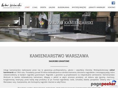 Zakład kamieniarski - Markotex – Marek Woźnicki