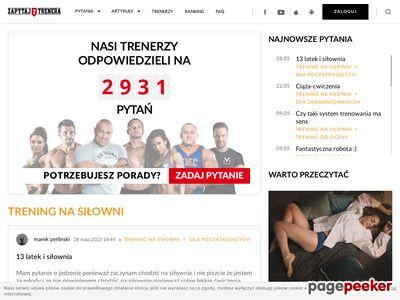 Zapytajtrenera.pl atlas cwiczen