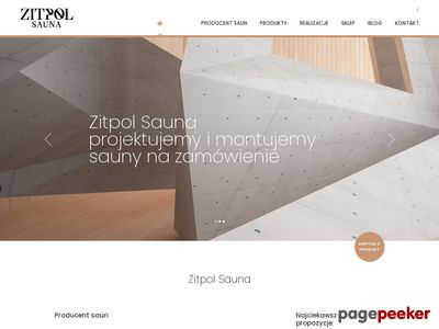Producent saun - Zitpol
