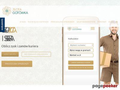 Skup złota online - pierwszy w Polsce !