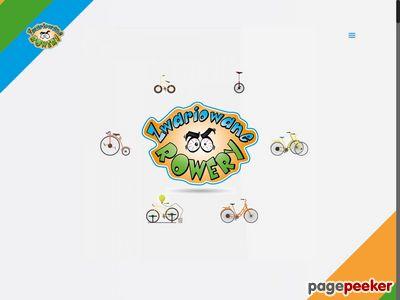 Zwariowane rowery - rewelacyjna atrakcja na zabawy integracyjne