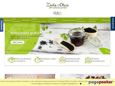 ZiołaiOleje.pl - oleje zimnotłoczone