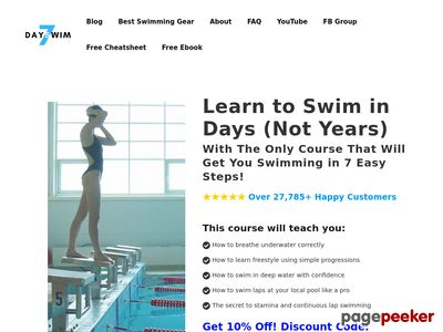 Start Swimming – 7 Day Swim