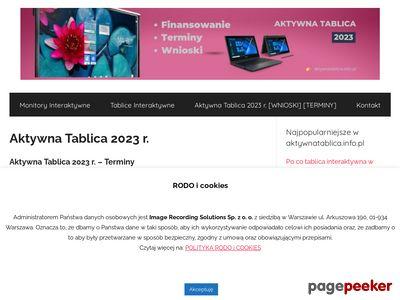AktywnaTablica.Info.pl - rządowy program cyfryzacji szkół