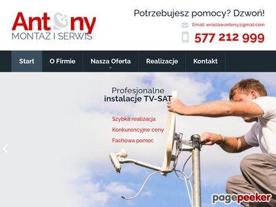 Montaż Anteny Wrocław