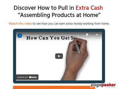 Assemble Products at Home – Over 250 Companies Listed!