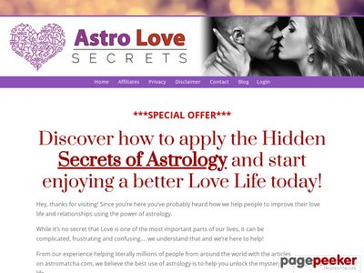 One Dollar Trial – Astro Love Secrets