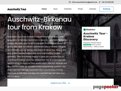Tour to Auschwitz