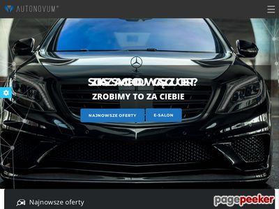 Samochody na sprzedaż Szczecin - autonovum.pl