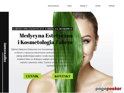Bankowa 1 - gabinet medycyny estetycznej Zabrze