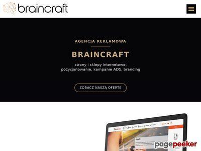 Agencja Reklamowa Braincraft - strony www Zabrze
