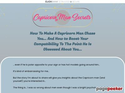Capricorn Man Secrets — Put That Hot Capricorn Man Under Your Spell