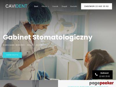 Cavident - gabinet stomatologiczny