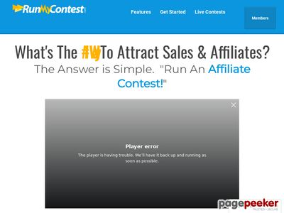 Run My Contest – Elevate Your Affiliate Contests