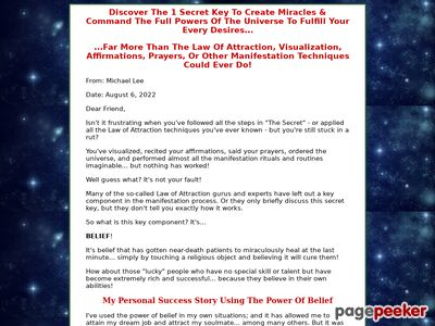 Choose To Believe – The Power Of Belief – Magic of Believing – Change Limiting Beliefs