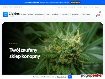 Produkty CBD – sklep konopny Cibidex.pl