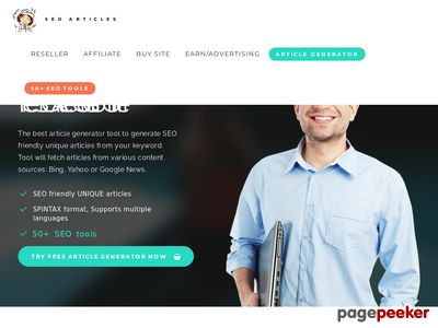 Free Unique SEO Article Generator Online Plus 50+ SEO Tools