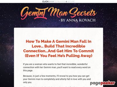 Gemini Man Secrets — Put That Hot Gemini Man Under Your Spell