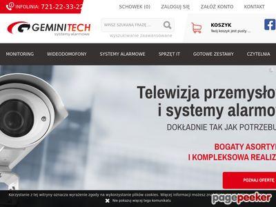 Dystrybucja systemów alarmowychMiędzywodzie - geminitech.pl