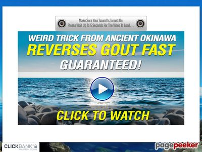The Gout Eraser™ – FREE Video Presentation Reveals How To Reverse Gout Fast – GUARANTEED!