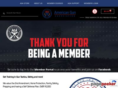 FREE! Ipac T-Shirt From The American Gun Association