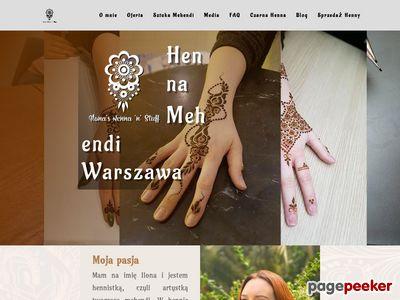 Henna - Henna Mehndi Warszawa