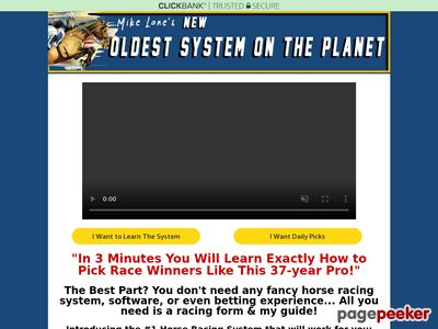 Horse Racing System - The Oldest System on the Planet