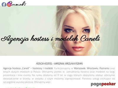 Agencja Hostess i Modelek Caneli| Warszawa Poznań Katowice Gdańsk