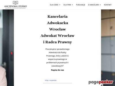 Anczewska i Puńko Kancelaria Adwokacko-Radcowska spółka cywilna