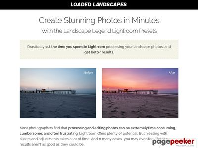 Landscape Legend Lightroom Presets for Landscape and Nature Photos