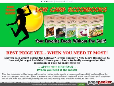 Low Carb eCookbooks Home – Low Carb eCookbooks