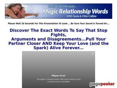 Magic Relationship Words
