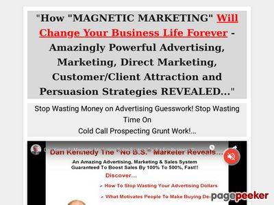 Magnetic Marketing Toolkit – Small Business Customer Building System